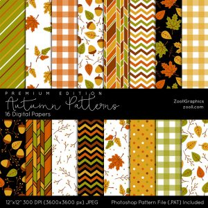 Autumn Patterns Premium Edition Preview