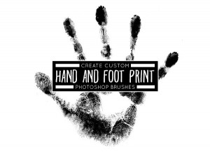 Hand And Foot Print Brushes