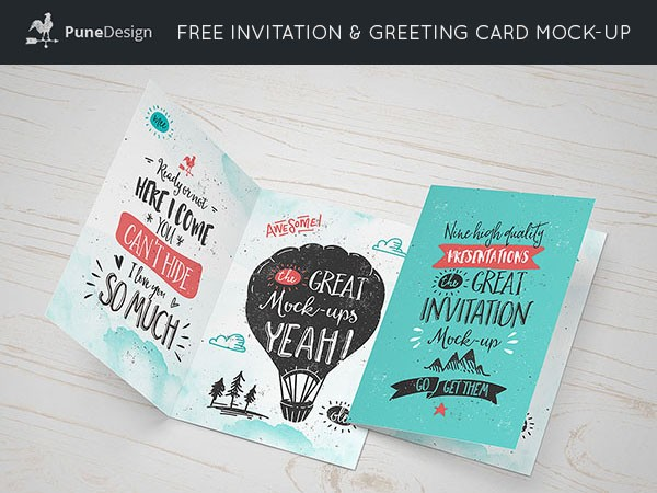Invitation-And-Greeting-Card-Mockup