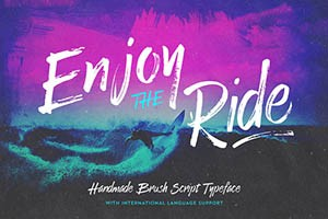 Enjoy-the-Ride-Typeface