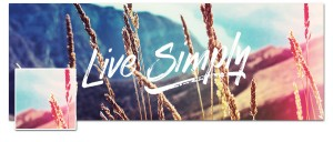Live Simply Timeline Cover