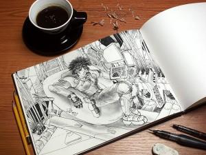 Art-Book-MockUp-PSD