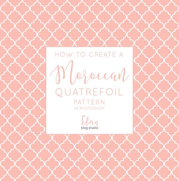 Moroccan Quatrefoil Pattern