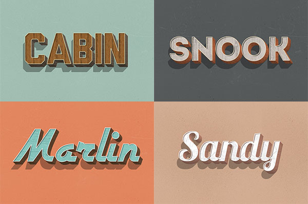 Retro-Wood-Text-Styles