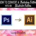 Convert a Photoshop Pattern into an Illustrator Pattern
