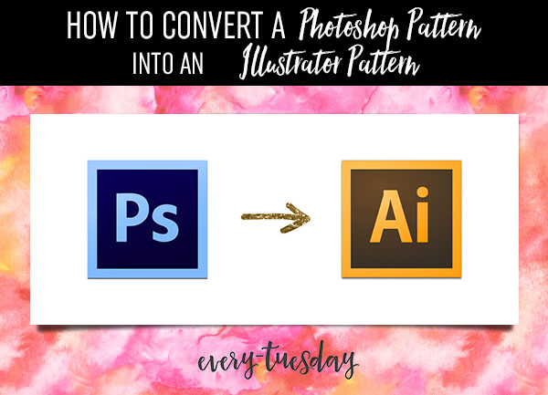Convert a Photoshop Pattern into an Illustrator Pattern