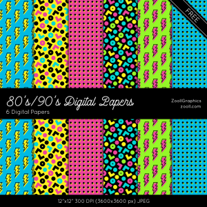 80s-90s-Digital-Papers-Preview