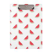 Watercolor Watermelon Pattern Clipboard