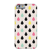 Playful Drops On Blush Barely There iPhone 6 Case