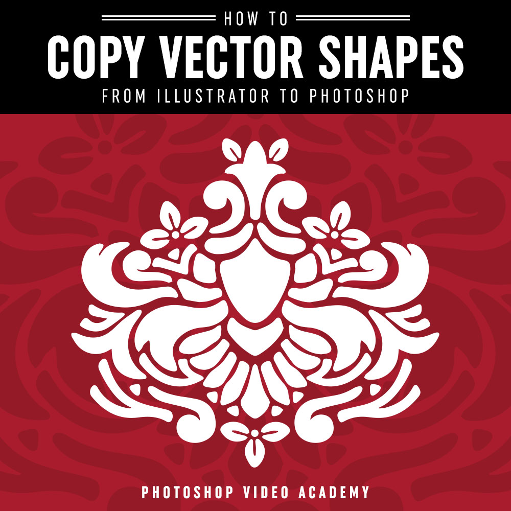 Tutorial time tutorial time how to copy vector shapes from illustrator to photoshop baditri Gallery